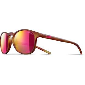 Julbo Fame Spectron 3CF Okulary przeciwsłoneczne 10-15Y Dzieci, brązowy/różowy